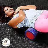 Muscle Foam Roller – Schaumstoffrolle zur Selbstmassage und für Pilates, CrossFit, Yoga, Laufen, Physiotherapie, Linderung myofaszialer Schmerzen - 3