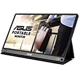 ASUS ZenScreen Touch MB16AMT - Monitor portátil USB-C de 15,6 pulgadas, IPS, Full HD, Conectividad híbrida, USB de tipo C, Mi