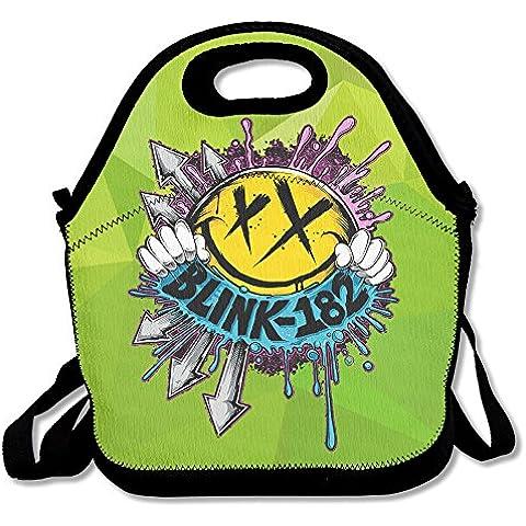 monaby multifunzione Deck Blink 182Smiley Logo pranzo