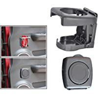 Delhi traderss Highly Quality Grey Foldable Car Drink/Can/Glass/Bottle Holder for All