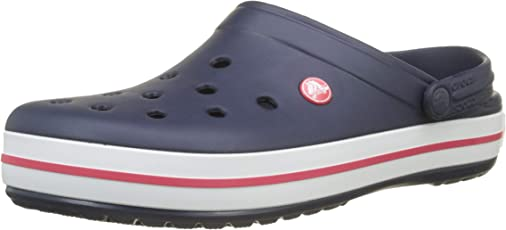 crocs Kids Unisex Crocband Sunshine and Amethyst Rubber Clogs and Mules