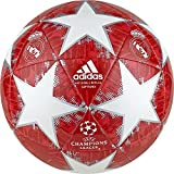 adidas Finale Madrid Capitano Ballon de football Pour Hommes, White/Silver Metallic/Real Coral/Vivid Red, 5