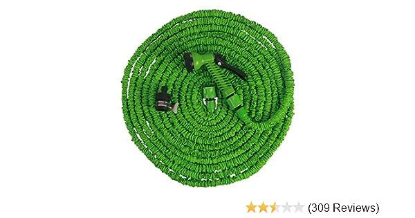 Wasserschlauch, Gartenschlauch, Länge 7,5m Bis 30m Ausgedehnt (30m):  Amazon.de: Garten