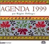 Agenda 1999 : Point de croix sur le thème des fleurs