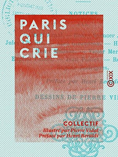 Couverture du livre Paris qui crie: Petits métiers