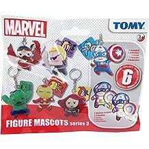 TOMY Pocket Money Juguetes Serie 3 Marvel Figura Mascottas Vengadores