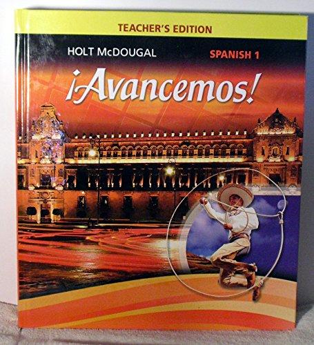 ¡Avancemos! : Teacher Edition Level 1 2013 (Spanische Ausgabe) (1 Avancemos)