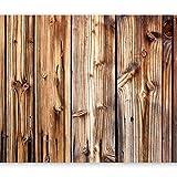murando - Fototapete 400x280 cm - Vlies Tapete - Moderne Wanddeko - Design Tapete - Wandtapete - Wand Dekoration - Holz Bretter f-B-0062-a-a