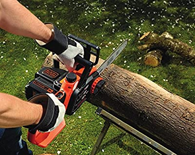 BLACK+DECKER 36 V Lithium-Ion Chainsaw, 30 cm