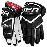 Bauer Vapor X600 Handschuhe Junior, Größe:12 Zoll;Farbe:schwarz/weiß