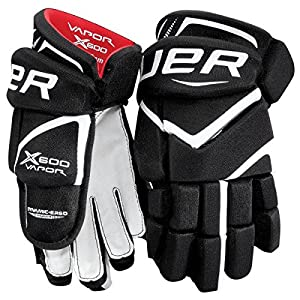 Bauer Vapor X600 Handschuhe Junior, Größe:10 Zoll;Farbe:Navy