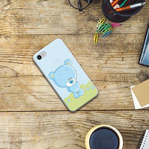 WoowCase Hülle Case für [ iPhone 7 ] Handy Cover Schutzhülle Gehirn, Musik und Wissenschaft Housse Gel iPhone 7 Transparent D0012