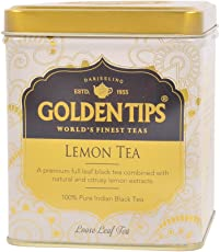 Golden Tips Lemon Black Tea Tin Can (100 gms)
