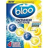 Bloo Puissance Active WC RIM Bloquer, 50g, Citron, étui de 10