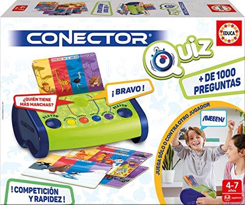 Educa Borrás- Conector Quizz, Juego Preguntas-respuestas...