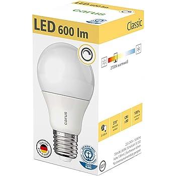 LED-Lampe Blauer Engel 600 Lumen E27