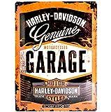 Nostalgic-Art 23188 Harley-Davidson - Garage, Blechschild 30x40 cm
