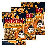 Haribo Lacaroo Toffee, 3er Set, mit Lakritzkern, Gummibärchen, Weingummi, Fruchtgummi, im Beutel, 375 g