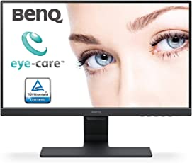 BenQ 21.5 inch (54.6 cm) Edge to Edge LED Monitor - Full HD, VA Panel with VGA, HDMI, Audio in, Heaphone Ports and in-Built Speakers - GW2280 (Black)