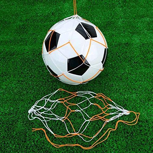 Frixie (TM) Nylon sfera della maglia della rete 5Pcs / Borse Set di calcio sfera della maglia portatili Borse Volley Pallacanestro Mesh