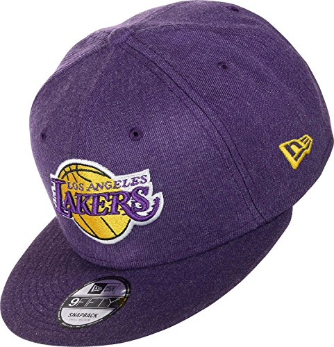 New Era Herren Caps/Snapback Cap Team Heather LA Lakers Violet S/M