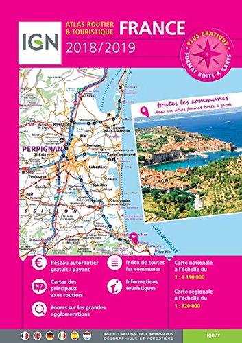FRANCE ATLAS ROUTIER ET TOURISTIQUE par COLLECTIF