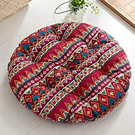 Coussin fauteuil rotin
