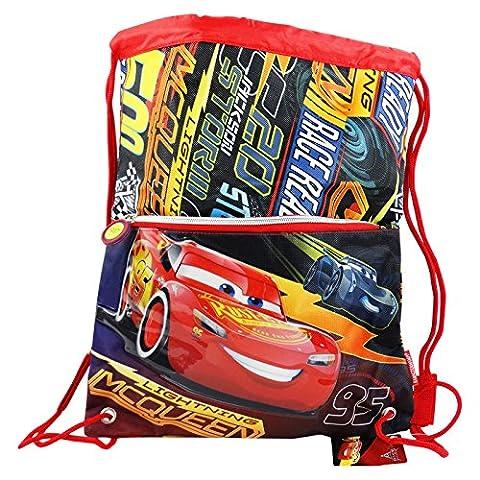 Disney Cars Race 3 Kinden Junge Rucksack Beutel Gymsack Beuteltasche 41 cm
