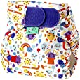 Tots Bots 8-35 lb Easy Fit Hook and Loop Nappy Incy Print