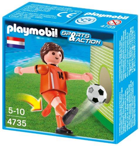 Playmobil 4735 - Fußballspieler Niederlande