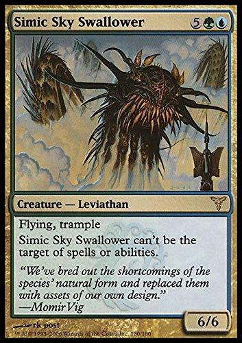 Magic: the Gathering - Simic Sky Swallower - Divora Cieli Simic - Dissension