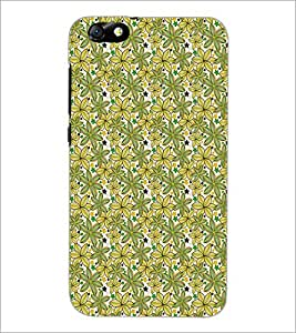 HUAWEI HONOR 4X LEAFS PATTERN Designer Back Cover Case By PRINTSWAG