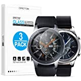 OMOTON Tempered Glass Screen Protector Compatible Samsung Gear S3/ Galaxy Watch 46mm [3 Pack]