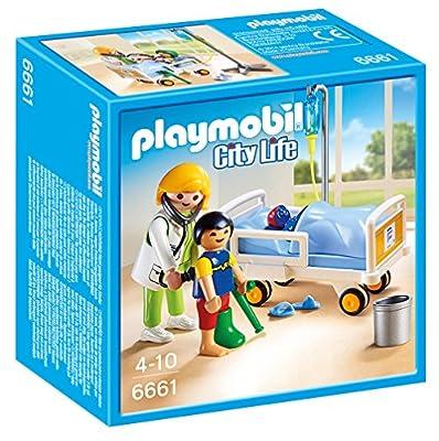 Playmobil - 6661 - Chambre d'enfant avec mdecin