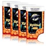 Birkengold Xylitos Bonbons Orange, 4er Pack (4 x 42 g)
