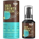 Beardhood Beard and Hair Growth Serum -Biotin, Collagen Peptide, Ginseng & Saw Palmetto, 50ml