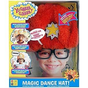 Yo Gabba Gabba DJ Lance Magic Dance Hat