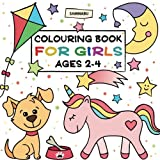 Colouring Book for Girls: Ages 2-4
