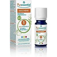 Puressentiel - Huile Essentielle Gaulthérie - Bio - 100% pure et naturelle - HEBBD - 10 ml
