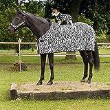 Sommerdecke für Pferde Typ Zebra decken für Pferde equit' M