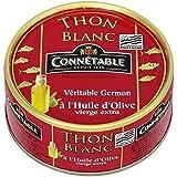 Connétable 1/5 Thon blanc germon à l'huile d'olive vierge extra 160g (Prix Par Unité) Envoi Rapide Et Soignée