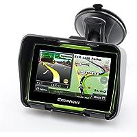 Excelvan W4 - Motorad Navigationsgerät mit 4,3 Zoll Display ( Auto Navigationsgerät, GPS, Wasserdicht IPX7, 8GB…