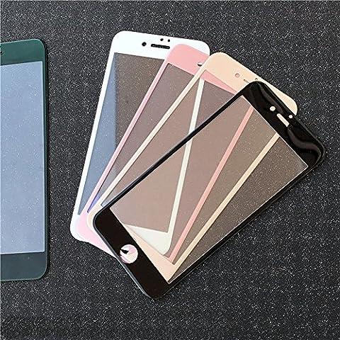 Haodasi Fibra del carbonio 3D molle nera del bordo vetro temperato Protector a schermo intero per iPhone 7 - Bordo Pocket Knife