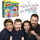 Toys Best Deals - Say It Don't Spray It Party Game - The Hilarious Speak Out Mouthpiece Mouthguard Board Game - Family Edition