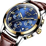 Best Men Watches - Mens Watches Leahter Analog Quartz Watch Men Date Review