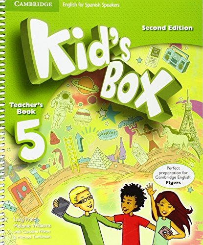 Kid's Box for Spanish Speakers Second Edition Level 5 Teacher's Book - 9788490364406