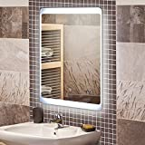 KROLLMANN Badspiegel mit LED Beleuchtung / Badezimmer Spiegel - Best Reviews Guide