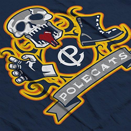 Polecats Full Throttle Men's Vest Navy Blue