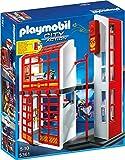 Playmobil 5361 - Cuerpo de Bomberos de estación de carga con alarma, 40 x 10 x 50 cm