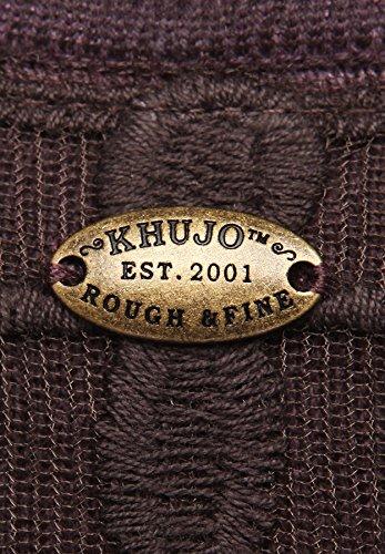 khujo - Pull - Uni - Manches Longues - Femme Medium Violet - lila (475DT-LILA)